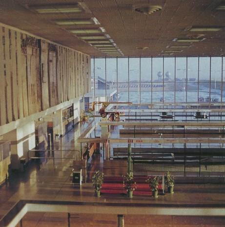 1969 zahraniční odbavení letiště Praha Ruzyně