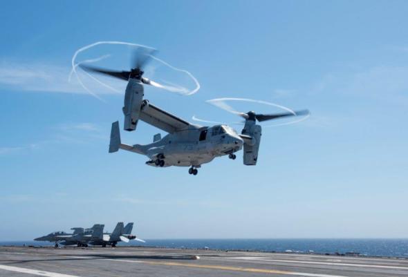 Bell Boeing CMV 22 Osprey
