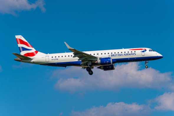 British Airways BA CityFlyer Embraer