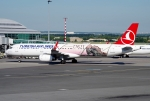 Turkish Airlines letiště Praha Ruzyně