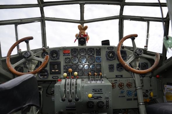 Junkers Ju 52 kokpit