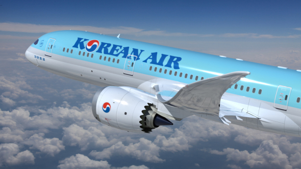 Korean Air Boeing B787-9 Dreamliner