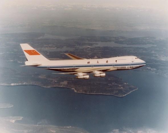 Boeing 747 Čína