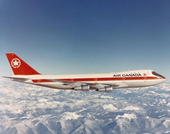 Boeing 747 Air Canada