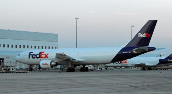 A300 600 spol FedEx v Torintu foto Jean Marc Racheter