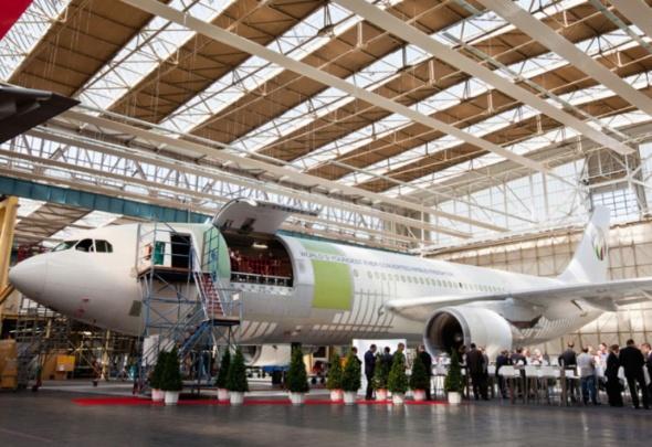 Airbus A300 600 foto EADS EFW v Abu Dhabi