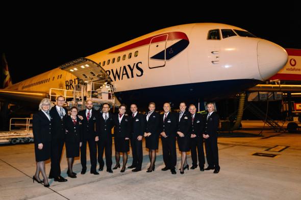Boeing 767 british airways posádka poslední let