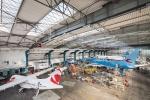 CSAT hangár F Praha Ruzyně
