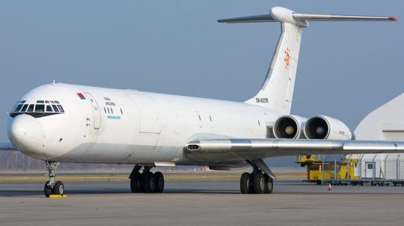 IL 62MGr foto Rada Airlines