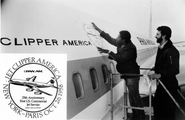 Pan Am Boeing 707 Clipper America