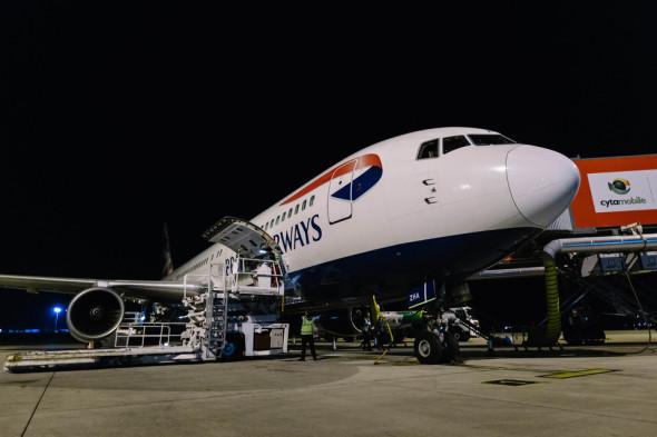 british airways Boeing 767 poslední let