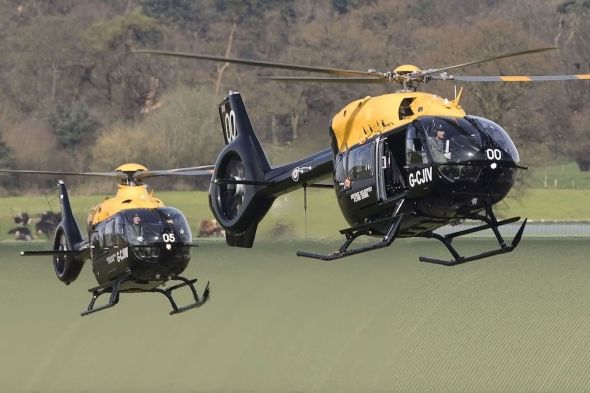Airbus helicopter H135 MFTS