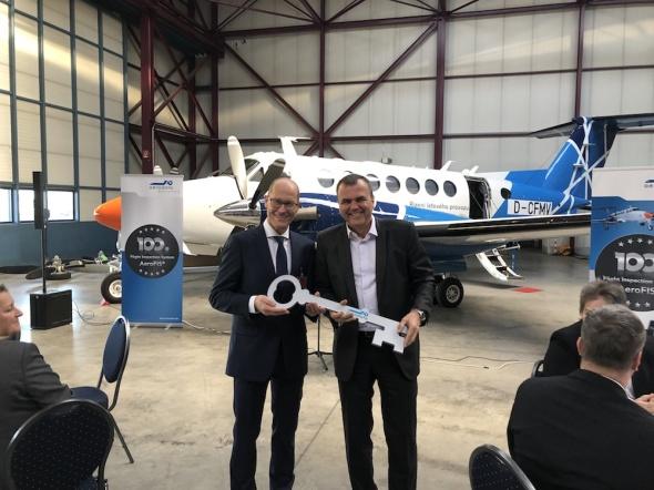 Beechcraft King Air 350 převzetí ŘLP ČR