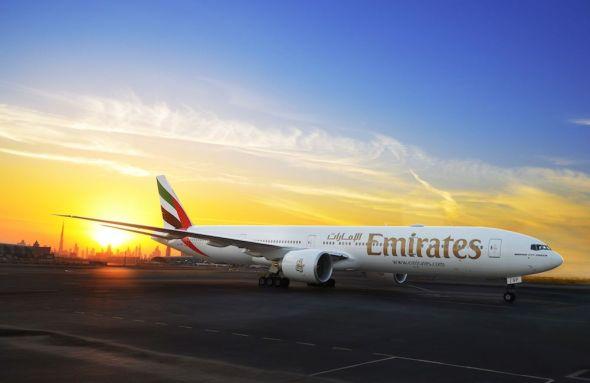 Boeing 777-300ER A6-EQP Emirates na letišti Dubaj