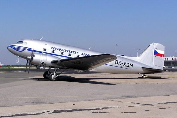 DC3 jako OK XDM ČSA rok 2003