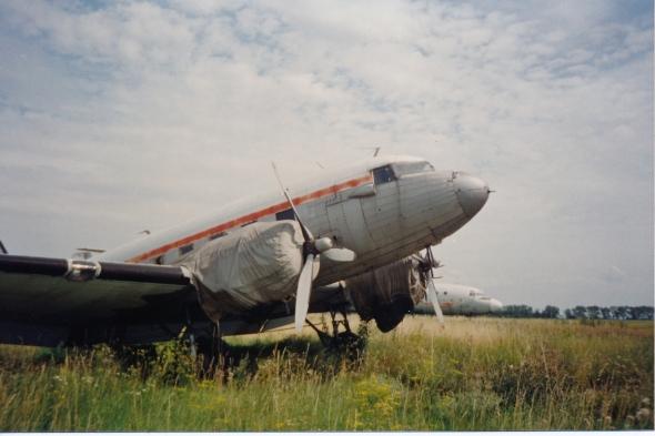 Douglas DC 3 Praha Kbely