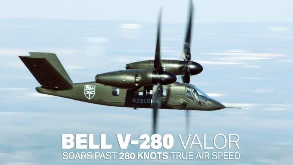 Bell V-280 Valor rychlost