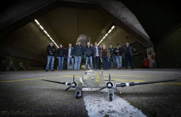 Douglas C-47A-35 startup