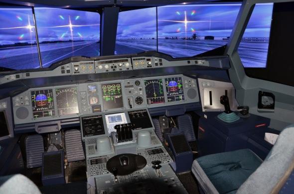 Simulátor Airbus A 380