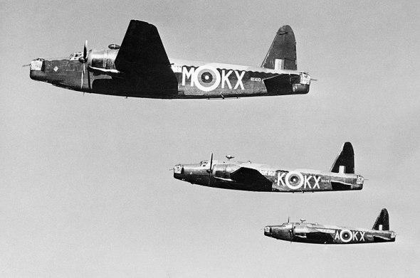 bombardéry Wellington 311 bombardovací squadrona RAF