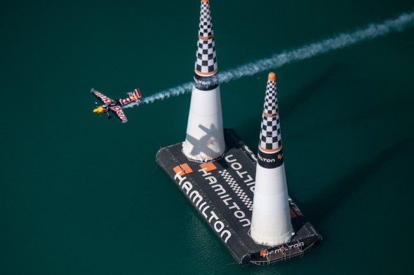 Martin Sonka finále Abu Dhabi Red Bull Air race 2019