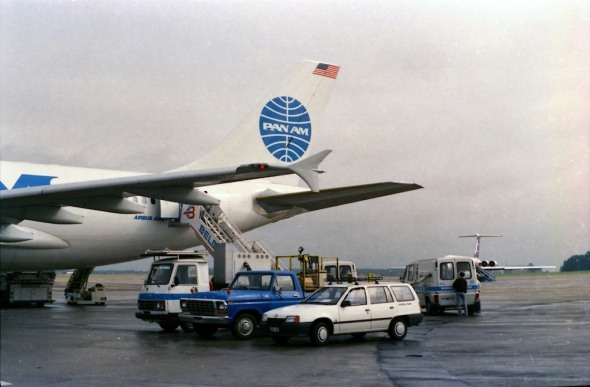 Airbus A310 Sabena a Pan Am