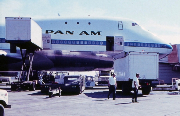 Boeing B747 Pan Am JFK