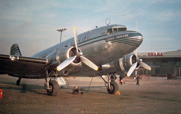 Douglas DC 3 Dakota Pan Am PRG Prague Airport