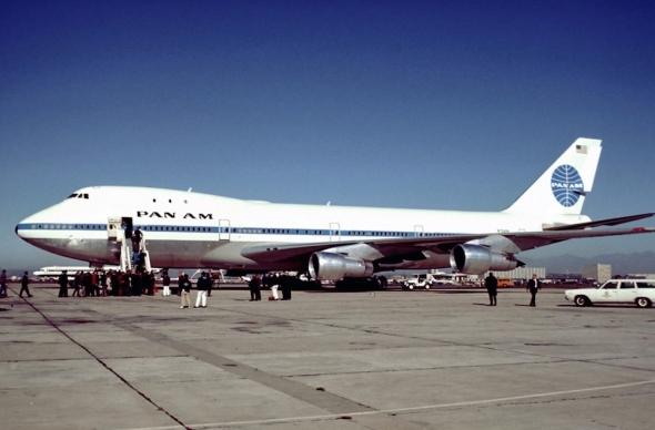 Jeden z prvních Boeingů B747 pro Pan Am