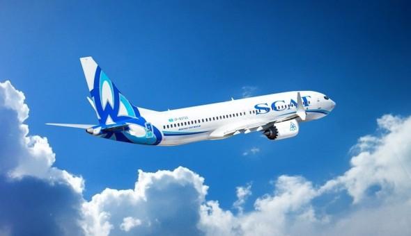 Boeing 737 SCAT Airlines Kazachstán