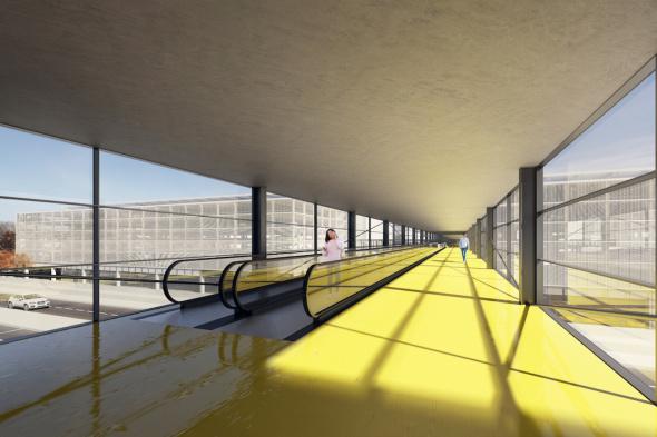 letiště Praha Ruzyně projekt modernizace 2019