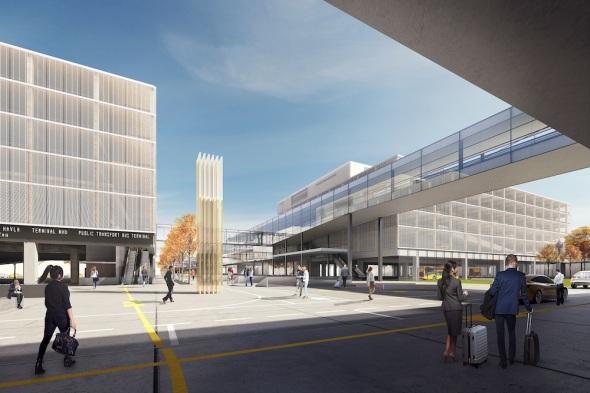 letiště Praha Ruzyně projekt parkovacích domů