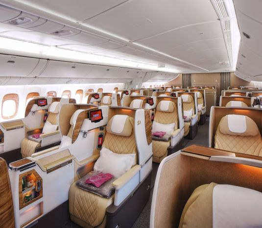 Emirates Boeing 777-200LR Business Class