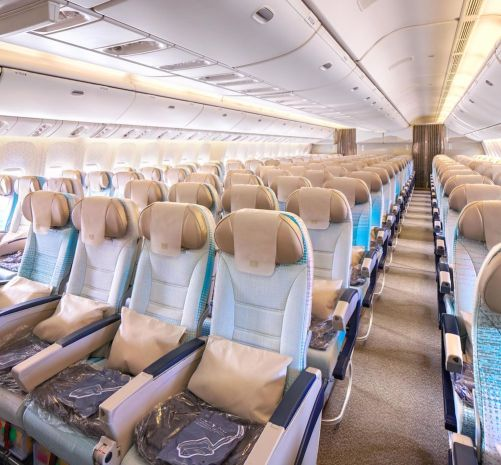 Emirates Boeing 777-200LR Economy__Class_Configuration