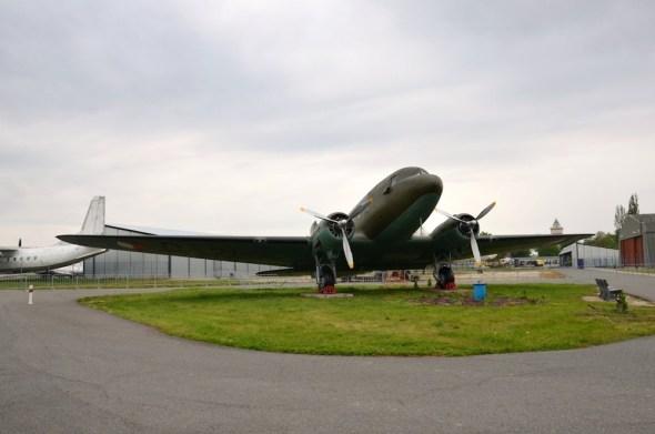 Douglas DC 3 muzeum Praha Kbely