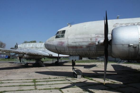 Letecké muzeum Kbely venkovní stojánka