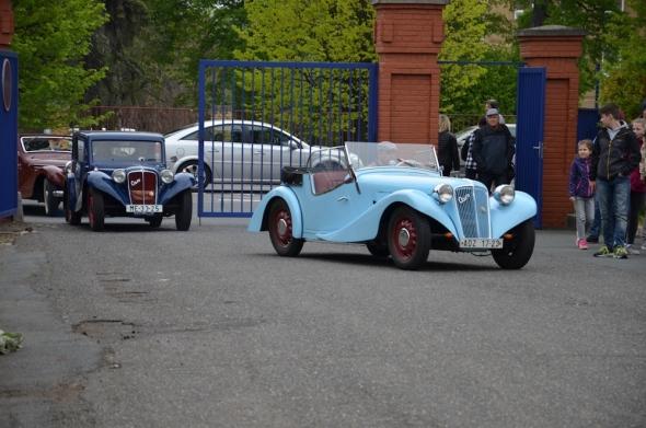 historická vozidla Aero