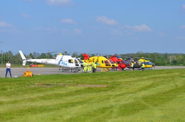 stojánka Helicoptershow 2019