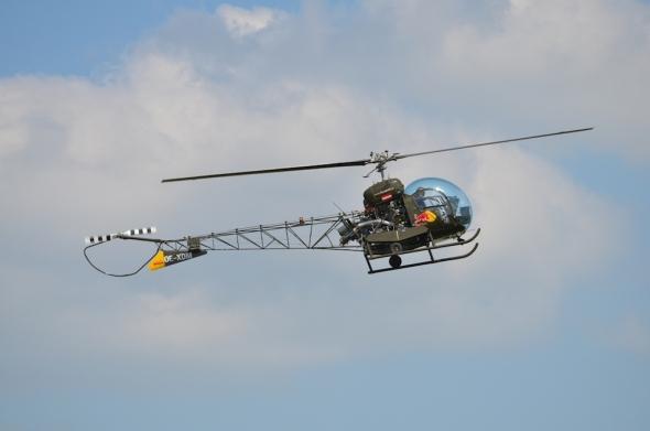 vrtulník Bell 47