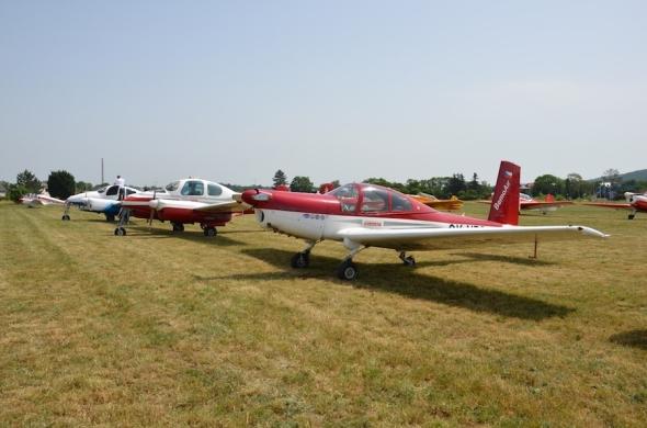 Slet československých letadel 2019 L 200 a L 40