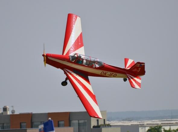 Slet československých letadel 2019 Zlín Z 126