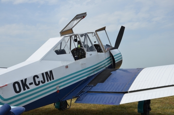 Slet československých letadel 2019 Zlín Z 37 Čmelák