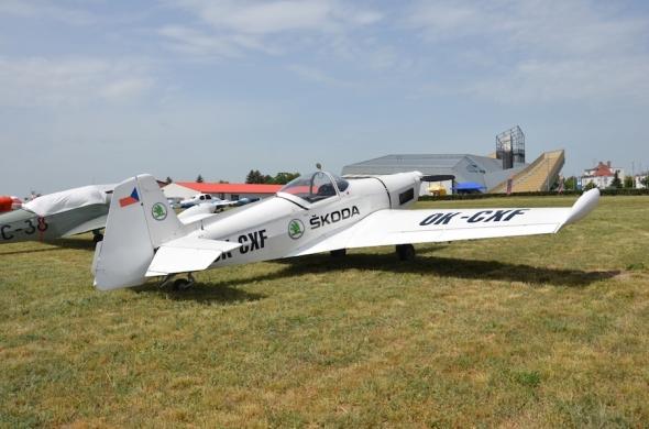 Slet československých letadel 2019 Zlín Z 526AFS V