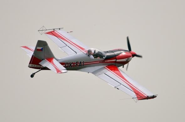 Slet československých letadel 2019 Zlín Z50LS