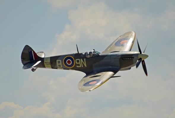 Spitfire a Dan Griffith Aviatická pouť 2019