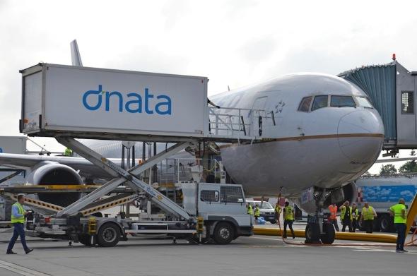United Airlines Boeing 767-300ER letiště Praha Ruzyně
