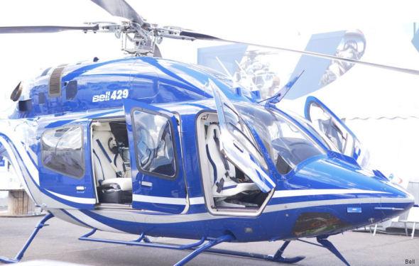 vrtulník Bell 429