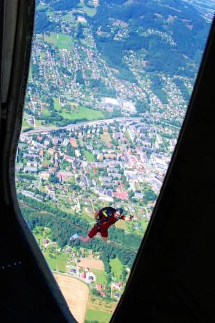 po výskoku para z AN 2 Frýdlant nad Ostravicí