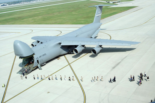 C-5M Super Galaxy US Air Force