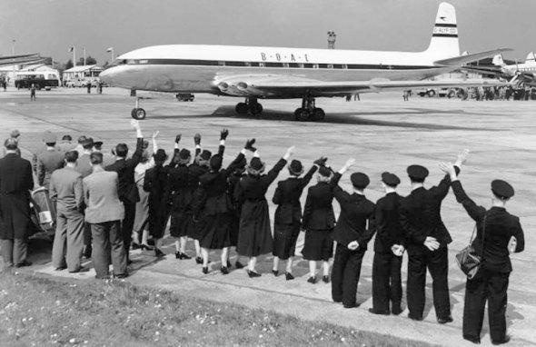 De Havilland Comet ve službě u BOAC